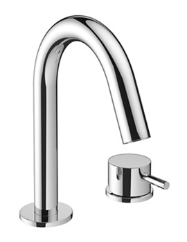 Related Crosswater Mike Pro 2 Hole Deck Mounted Chrome Basin Mixer Tap