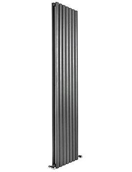 Cove 413 x 1500mm Double Sided Vertical Radiator Anthracite