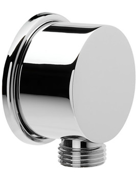 Croydex Round Wall Outlet Elbow - AM166841