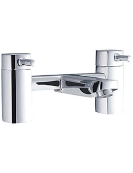 Beo Forte Deck Mounted Bath Filler Tap Chrome