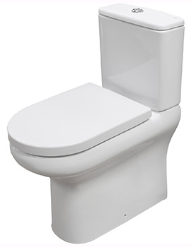 Compact Deluxe Close Coupled Fully Back To Wall WC Pack 625mm
