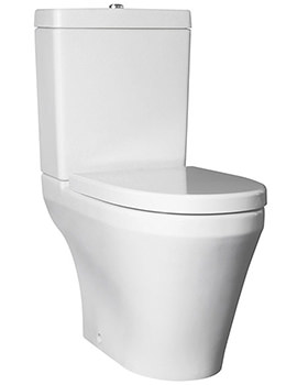 Related Lauren Marlow Semi BTW Close Coupled WC Pan And Cistern
