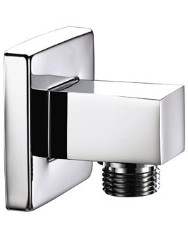 Square Shower Wall Outlet Chrome - ARM WOSQ01 C