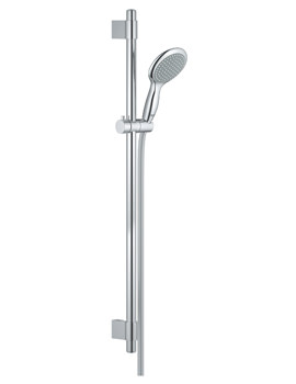Power And Soul Contemporary 900mm Shower Slide Rail Kit