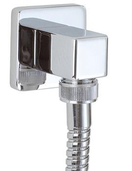 Square Shower Outlet Elbow - SK012