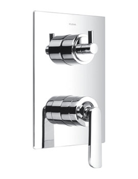 Related Flova Cascade Concealed Manual Shower Valve With 3 Way Diverter