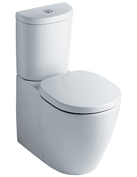 Concept Close Coupled Back-To-Wall WC Pan 665mm