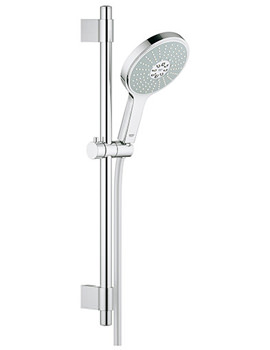 Power And Soul Cosmopolitan 600mm Shower Rail With 160mm Handset