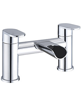 Beo Libero Deck Mounted Bath Filler Tap Chrome
