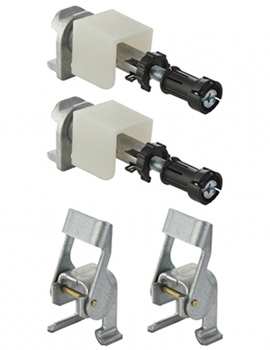 Pre-Wall Brackets For Duofix WC Frames - 111.844.00.1