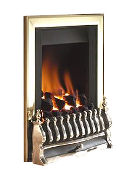 Stirling Manual Control Inset Gas Fire Brass - FSCC42SN