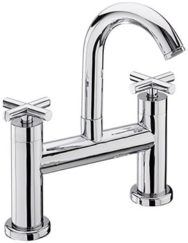 Maverick Pillar Mounted Bath Filler Tap Chrome - 68030
