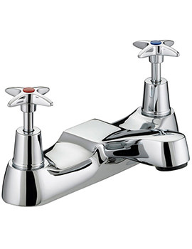 Bristan 5412 Value Cross Top Bath Filler Tap - VAX BF C