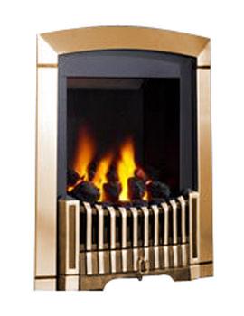 Flavel Rhapsody Slide Control Natural Gas Fire Antique Brass- FDCN46SN