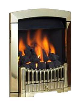Rhapsody Slide Control Natural Gas Fire Brass Finish - FDCN45SN