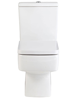 Jewel Close Coupled WC With Cistern And Soft Close Seat 610mm