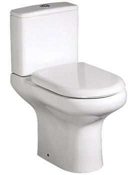 Compact Deluxe Close Coupled Full Access Open Back WC Pak 625mm