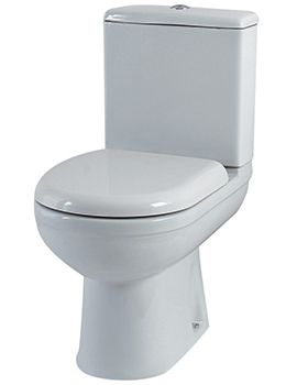 Related Phoenix Emma WC With Cistern And Soft Close Seat 615mm