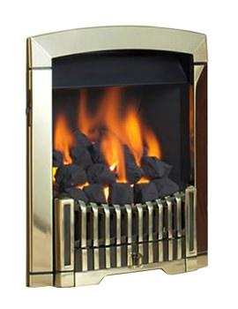 Related Flavel Rhapsody Slide Control LPG Gas Fire Brass - FDCN45SP