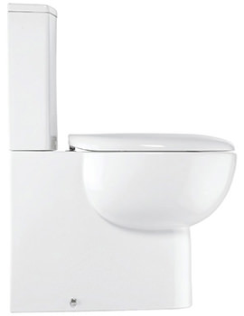 Related Bauhaus Wisp Closed Coupled Toilet With Cistern 365 x 600mm