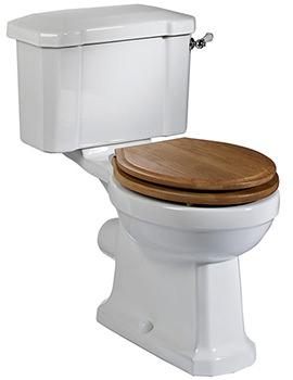 Vitoria Close Coupled 673mm WC Pan With Cistern
