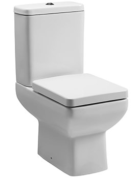 Tavistock Q60 Close Coupled WC With Cistern And Seat 600mm
