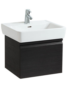 Related Laufen Pro 520mm Vanity Unit Wenge With 1 Drawer And 1 Interior Drawer