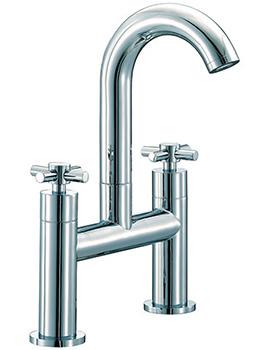 Series C Bath Filler Tap High Spout Chrome - SCX017