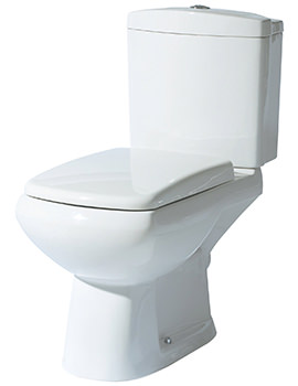 Lisa Closed Coupled WC With Cistern and Soft Close Seat 700mm