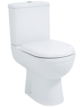 Emma Comfort Height WC Pan And Fixings