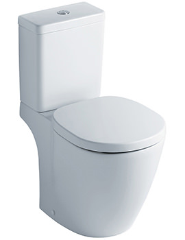 Concept Cube Close Coupled WC Pan And Cistern 665mm
