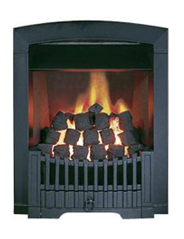 Related Flavel Rhapsody Slide Control LPG Gas Fire Black - FDCN57SP