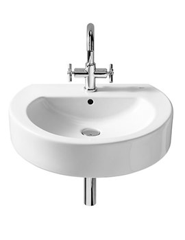 Related Roca Happening Wall Hung Basin 560 x 450mm - 327562000