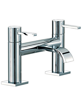 Wave Bath Filler Tap Chrome - RDL005