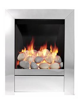 Sensation Full Depth Inset Gas Fire Chrome - 83593