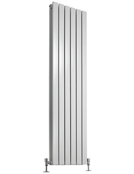 Beo 354 x 1800mm Double Panel Vertical Designer Radiator White