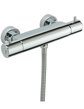 Poppy Exposed Shower Valve With Slide Rail Kit Chrome