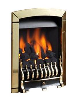 Calypso Slide Control Inset Gas Fire Brass - FNCN42SN