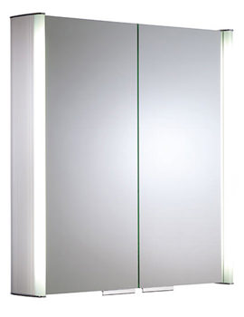Ascension Summit Fluorescent Light Cabinet 654mm - AS615ALIL