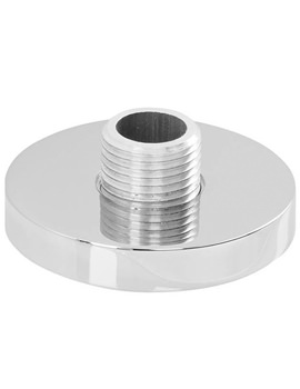 Circular Deck Mounted Chrome Shower Outlet - AB2462