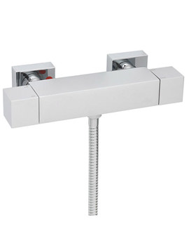 Dance Exposed Thermostatic Valve With Sliding Rail Kit