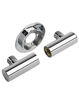 Mini Valve Adjustable Elbow Pack Chrome - 1.1663.012