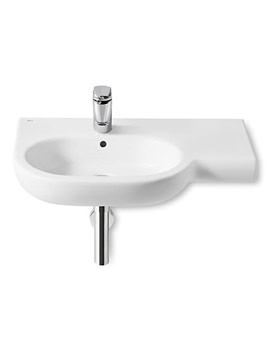 Meridian-N Asymmetrical Wall Hung Basin 750mm Wide - 32724L000