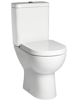 Ion Comfort Height 600mm WC With Cistern And Toilet Seat