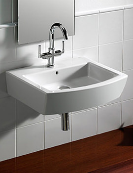 Hall Wall Mounted Basin With 1 Tap Hole - 327621000