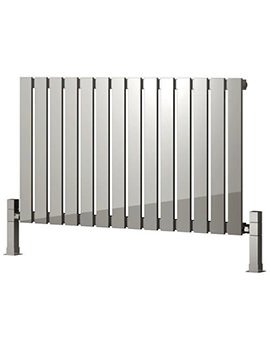 Reina Calix 660 x 600mm Designer Radiator Polished - RNS-CLX6660