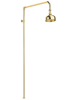 Related Sagittarius Traditional Shower Rigid Riser Rail With 120mm Rose Gold