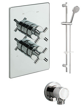 Erin Concealed Valve With Kit And Wall Outlet