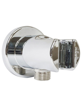 Related Grohe Relexa Plus Outlet Elbow With Wall Shower Holder - 28628000