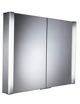 Perception Recessed Illuminated Cabinet 1000mm - PE1000